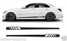 AMG Edition 507 Side Stripe Decals Stickers - Mercedes Benz C Class W204 W205