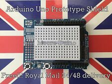 Arduino UNO Prototype shield prototypage protoshield carte d'extension V3 uk stock