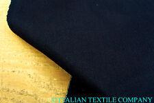 C165 VERY DARK BLUE INDGO DENIM SUPER FINE DELUXE COTTON STRETCH 13.5oz Yarn dye