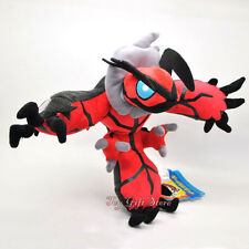 Poke Plush Doll Figure x / y  Yveltal 9.5""