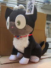 """Ao no Exorcist blue Exorcist black cat plush toy cute gift doll 12"""" new first"""
