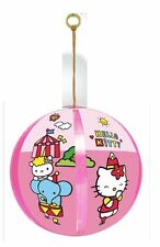 Hello Kitty Megaball. 30cm Inflatable Ball with bell, attached to elastic band
