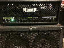 krank krankenstein 100 watt tube head EXCELLENT Condition!!!!