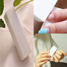 White Nail Art Buffer Buffing Sanding Files Manicure Care DIY 5pcs pack Fine