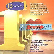 Audio CD 12 Numero 1's  - Industria Del Amor VeryGood