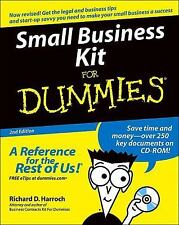 Small Business Kit for Dummies® by Richard D. Harroch (2004, Paperback, Revised)