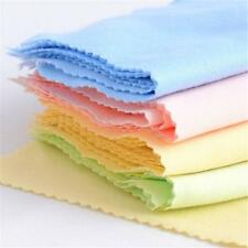 10x Microfibre Cleaning Cloths For Glasses Spectacle Lens Camera Mobile Phone DA