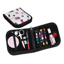 Portable Sewing Kit Case Travel Home Needle Thread Tape Scissor Button Handcraft