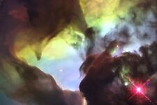 New 5x7 Photo: Hubble Telescope Image of Giant Twisters in the Lagoon Nebula