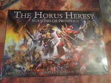 WARHAMMER 30K BURNING OF PROSPERO HORUS HERESY COMPLETE GAME - NEW & SEALED