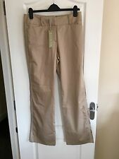 REDUCED!! BNWT Millie Fox ladies golf trousers Size 14 Buff/beige