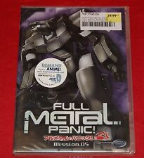 Full Metal Panic - Mission 5 (DVD, 2003) Action Animation Robot R1 BRAND NEW