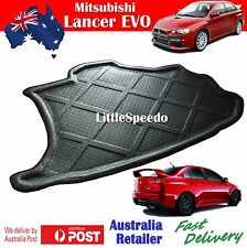Mitsubishi Lancer 07-Current EVO EVOLUTION Sedan Boot liner Cargo mat - Black