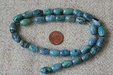 Blaue Afrikanische Opal-Strang(Oliven) Q-5345/F