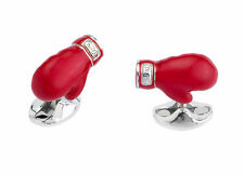 New Original Deakin & Francis Sterling Silver Boxing Glove Cufflinks C1572S07