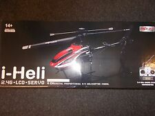 i-heli 2.4g.lcd.servo 4 ch digital proportional r/c helicopter model (red)