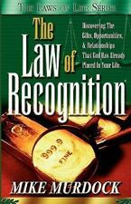 The Laws of Life: The Law of Recognition by Mike Murdock (1999, Paperback)