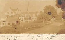 RPPC W.D. HINDS TAXIDERMIST BELGRADE LAKES MAINE REAL PHOTO POSTCARD 1907