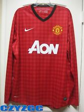 BNWT Manchester United 2012/13 Long-Sleeve Home Shirt XL