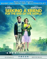 SEEKING A FRIEND FOR THE END OF THE WORLD New Sealed Blu-ray + DVD
