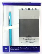 Cross Century Classic Ballpoint Pen Gift Set with FREE Notebook TEAL