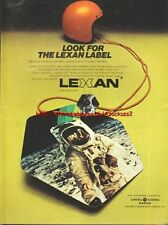 Lexan Helmets Motorcycle 1973 Magazine Advert #2026