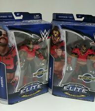 WWE ROAD WARRIORS HAWK & ANIMAL ELITE FLASHBACK SERIES 30 Legion Of Doom MATTEL
