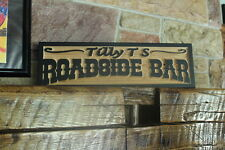 Personalized Custom Carved Wood Sign Rustic Home Bar Decor Pub Man cave 3D look