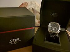 Oris BC4 Chronograph, leather.