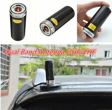 Black Dual Band VHF UHF 400-470Mhz&136-174MHZ Car Bus Mobile Ham Radio Antenna