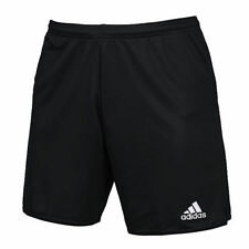 NEW ADIDAS PARMA II  FOOTBALL SHORTS BLACK ADULT SIZE MEDIUM NWT