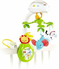 Fisher-Price Deluxe Projection Mobile, Rainforest Friends Musical 3-in-1 NEW