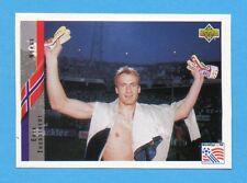 UPPER DECK-WORLD CUP USA 94 -Figurina n.225- THORSTVEDT - NORVEGIA -NEW