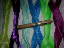 PRO HAIR ROOTING TOOL 4 MY LITTLE PONY 2 + 1 skein Saran and 1 extra needle