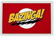 IMAN NEVERA THE BIG BANG THEORY BAZINGA 1 - FRIDGE MAGNET LA TEORIA DEL BIG BANG