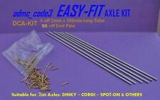 EASY-FIT Replacement Axle Kit 2mm for Dinky Corgi Spot On Car Van Trucks DCA-Kit
