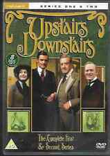 UPSTAIRS DOWNSTAIRS SERIES ONE & TWO FIRST/SECOND SEASON GENUINE R2 DVD 8-DISC