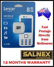 Lexar 8 GB MicroSDHC Class 10 microSD Card
