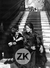 DOMINIQUE SANDA Escalier LILIANA CAVANI Au-delà du Bien Mal Tournage Photo 1977