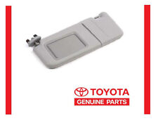 2009-16 Toyota Venza Drivers Visor Gray with Sunroof OEM NEW
