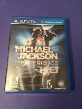 Michael Jackson The Experience HD for PS Vita NEW