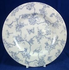 Queens TOILE DE JOUY-BLUE Salad Plate GREAT CONDITION