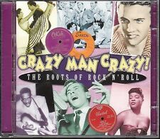 CD 109 DOPPIO CD CRAZY MAN CRAZY THE ROOTS OF ROCK'N ROLL