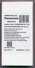 2-pack of Fax Film Refills for Panasonic KX-FP101 KX-FP105 KX-FP106 KX-FP121 AL