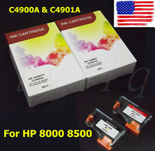 NEW 940 Print Head Black/Yellow C4900A & Cyan/Magenta C4901A For HP 8000 8500 US