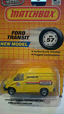 Matchbox MB57 Ford Transit Made in China  (9997)