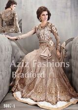 BRAND NEW Indian Bollywood Anarkali Shalwar Kameez Unstitched Dress