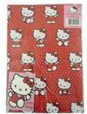 Hello Kitty Party - 2 Sheets of Gift Wrap & 2 Tags Birthday - FREE POST IN UK