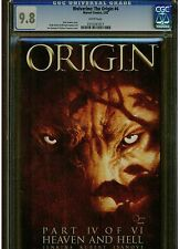 WOLVERINE ORIGIN 4 CGC 9.8 WHITE PAGES 2002 ANDY KUBERT JOE QUESADA PAUL JENKINS