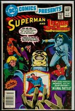 DC Comics Presents #43 SUPERMAN And The LEGION Of SUPER-HEROES FN 6.0